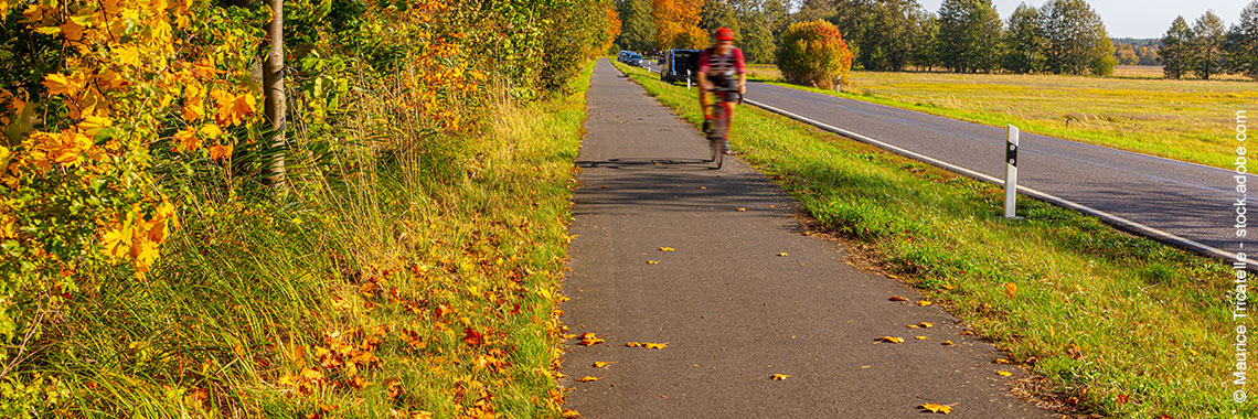 Bild: Headerbild Radweg - Copyright Maurice Tricatelle - stock.adobe.com
